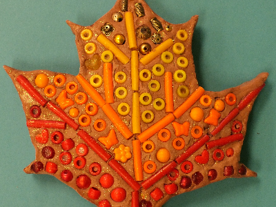 Mommy's Time Off- Clay Factory- Fall Mosaics (4-9 Years)